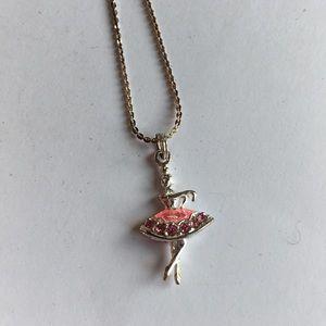 Ballerina necklace!!
